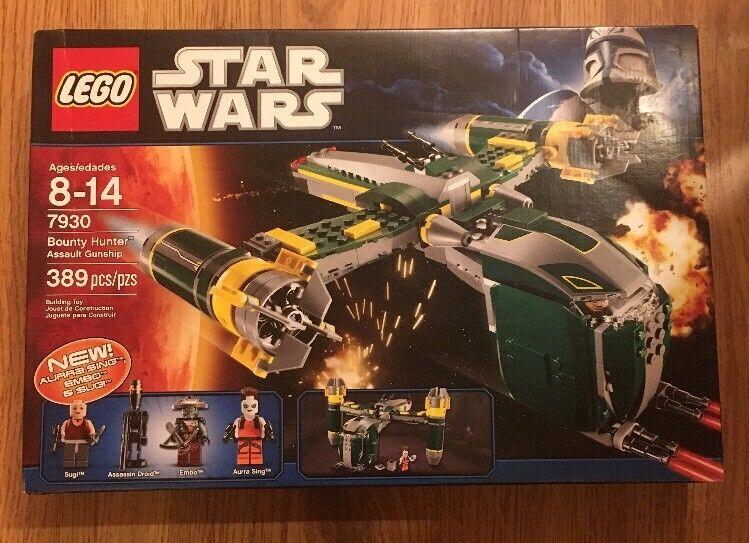 LEGO Star Wars Bounty Hunter Assault Gunship Set 7930 7930 7930 Aurra Sing Embo BRAND NEW 582e1c
