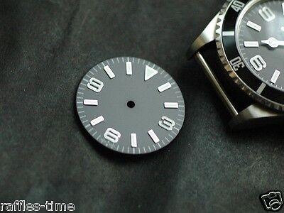Plain Explorer Watch Dial for DG 2813 Miyota 8200 Movement