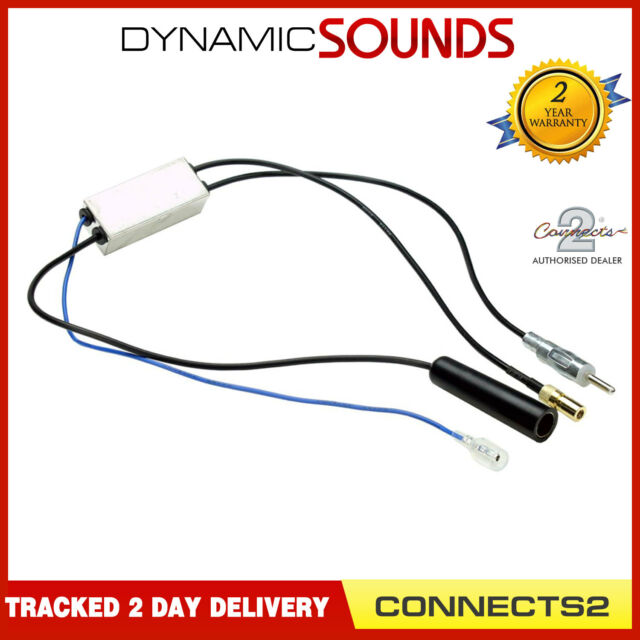 Connects CT27AA136 PIONEER Car Stereo Radio DAB DAB+ SMB Aerial Antenna Splitter