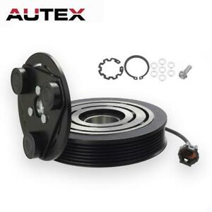 AC A/C Compressor Clutch Repair Kit Pulley Coil Hub Fit Nissan