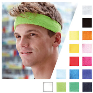 Objectif ! Mb Sports Bandeau Headband Schweissband Tête Sport Schweißband 042-15 Couleurs-afficher Le Titre D'origine