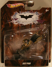 Hot Wheels 2012 The Dark Knight Bat-Pod Batman Motorcycle 1:43 Scale