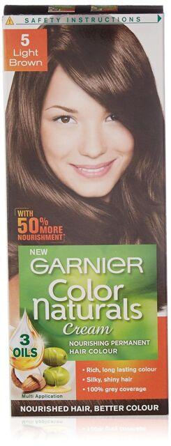 0d5ebc3a436 Garnier Color Naturals 5 Light Brown Crème Riche No Ammonia Hair Color  70ml+40gm