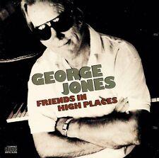 George Jones (w. Buck Owens, etc): Friends In High Places - CD (1991)