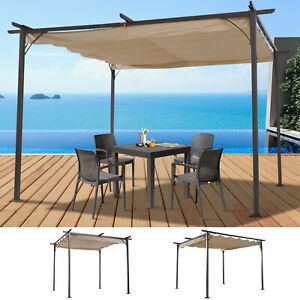 Outdoor Retractable Sun Shade Covered Modern Square ...