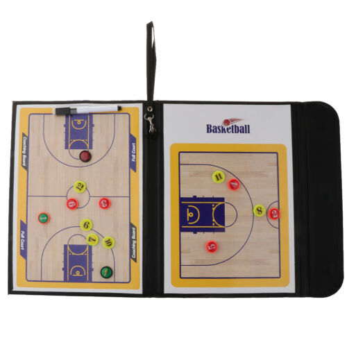 Magnetic PU Basketball Coaches Tactic Strategy Board Plate with Write Wipe Pen