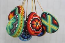 Huichol Bead Art, tree ornaments