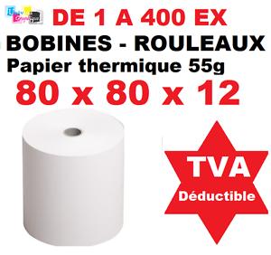 Rouleaux Bobines Papier Thermique 80 X 80 X 12 Pour Caisse Imprimante Thermique Luxuriant In Design