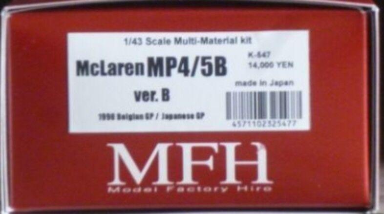 Model Factory Hiro 1 43 McLaren MP4 5B Ver.B Full Detail Kit K-547 from Japan