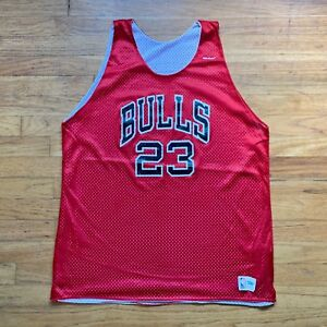 save off 2ff6b afd32 Details about Chicago Bulls Vintage Michael Jordan Sand Knit NBA Basketball  Jersey '80s