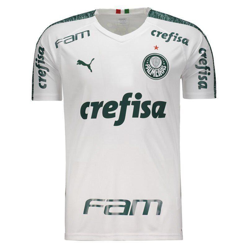 Palmeiras lejos fútbol con los patrocinadores Camiseta Jersey - 2019 Puma Brasil