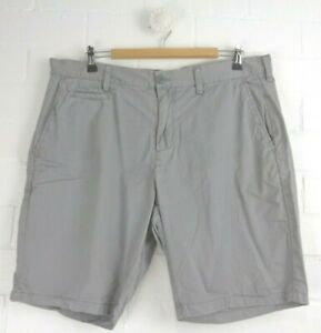 COUNTRY-ROAD-Grey-Straight-Leg-Shorts-Side-Pockets-Size-36