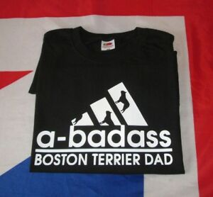 67727561 Image is loading Boston-Terrier-Dog-T-Shirt-BT-Dad