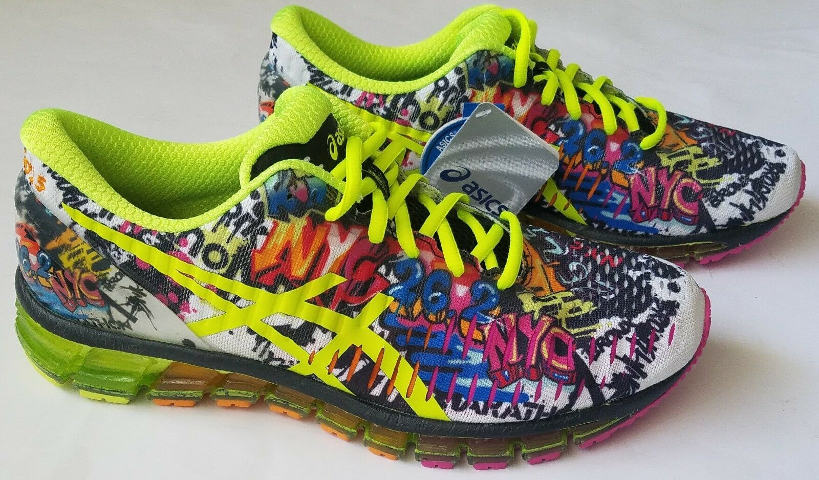 ASICS GEL Quantum 360 Maraton de NYC 11,5 Mujer running zapatos t5q8n US 11,5 NYC Rare New Wild Casual Shoes 6f952e