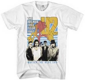 a1e6b15d U2 - Bullet The Blue Sky - T SHIRT S-2XL New Official Live Nation ...