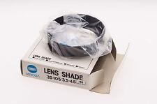 Minolta lens hood 35-105mm f/3.5-4.5 MD 55mm fit