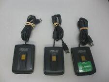 Lot Of 3 Precise Biometrics 200 Mc Usb Fingerprint Scanner Smart Card Reader