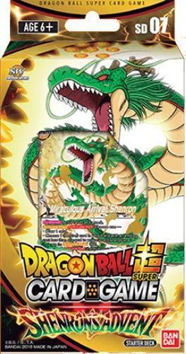 Dragon Ball Super Card Game Shenron/'s Advent Starter Deck SEALED