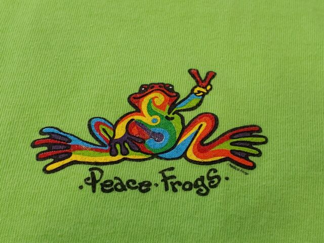 PEACE FROG DECAL STICKER VINYL POISON ARROW
