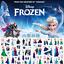 12 Sheets Disney Frozen elsa and Anna Princess scrap bookin for kids 3D sticker