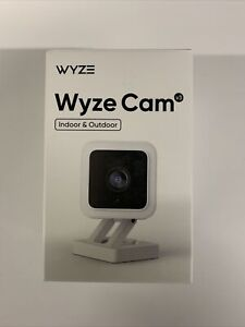 WYZE Cam V3 NEW 1080P Color Night Vision Indoor/Outdoor ( New In sealed Box )