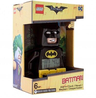LEGO Batman Movie Batman Minifigure Alarm Clock  DC Comics