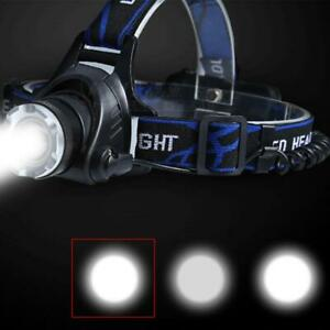 8000LM T6 LED 18650 Headlamp Headlight Flashlight ZOOM Head Light Lamp Torch