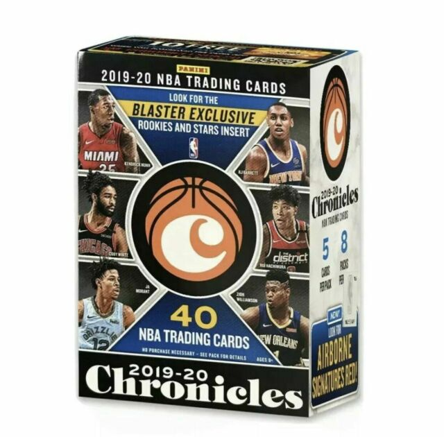 2019-20 Chronicles Basketball NBA 8 PACKS SEALED BLASTER BOX NEW!