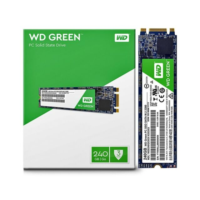 SSD 240GB M.2 SATA 2280 Western Digital WD Vert WDS240G2G0B Ordinateur  Portable   eBay