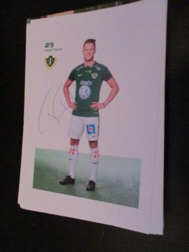 73972 Tommy Thelin Jönköpings IF original signierte Autogrammkarte in Größe A5