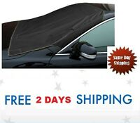 Car Windshield Snow Cover Truck Suv Ice Protector Sun Shield W/storage Pouch