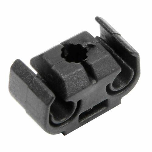10 x Halter doppelt Bremsleitungshalter Halterung Clip VW 4,75 mm  811611797 sch