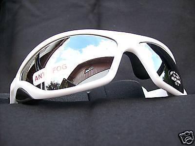 Ravs Rabrille Fahrradbrille Radsportbrille Schutzbrille Triathlonbrille weiß