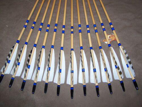 12 cèdre bois traditionnelle flèches 45//50 vous choisissez la colonne vertébrale USA 50//55 55//60