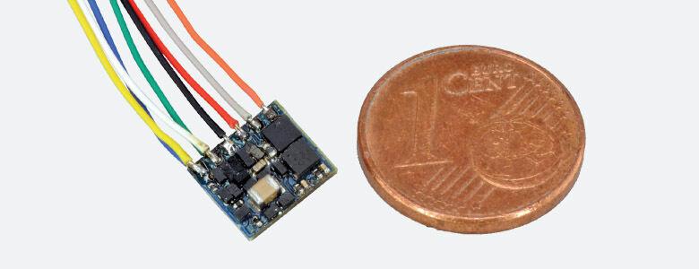 Esu 53620 2 Piezas Maquinista Fx Nano mm   DCC 8 Pines Conector Nem 652