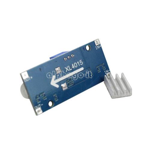 XL4015 DC-DC Buck Converter Step Down Module Power Supply Output 1.23V-36V 5A T