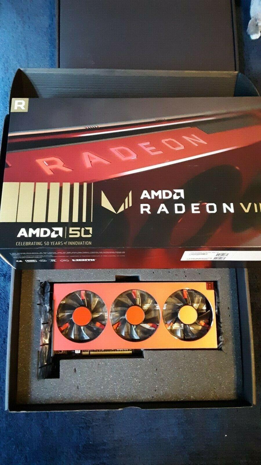(USED) AMD Radeon VII 50th Anniversary Excellent Condition w/Box