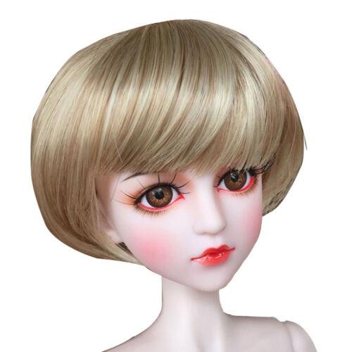 Parrucca Corta di Moda Accessori Dressup per Bambola Ragazza Scale 1//4