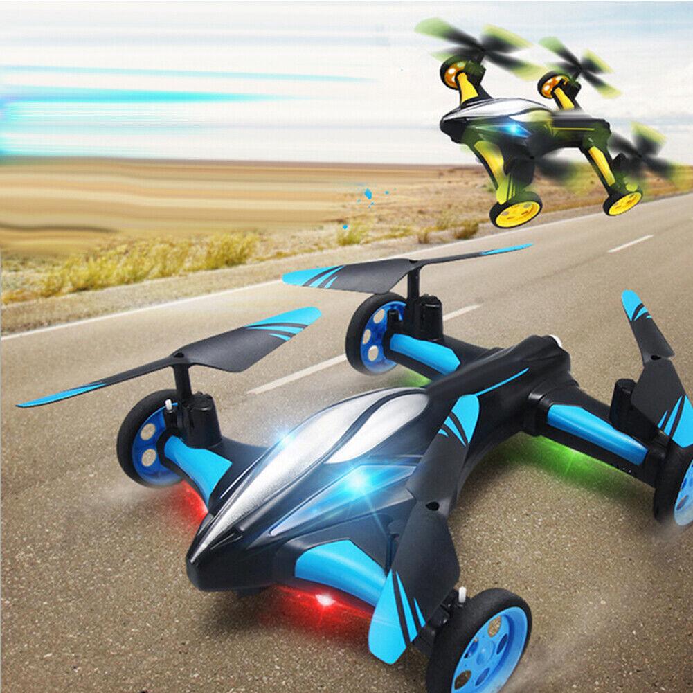 KQ_ H23 2.4G  4CH 6-Axis 3D Flip Gyro Air-Ground Flying auto RC Drone RTF Quadcopt  servizio di prima classe