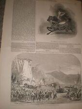 Circus acrobat hernandez at Astley's London & Royal Opera House Masaniello 1849