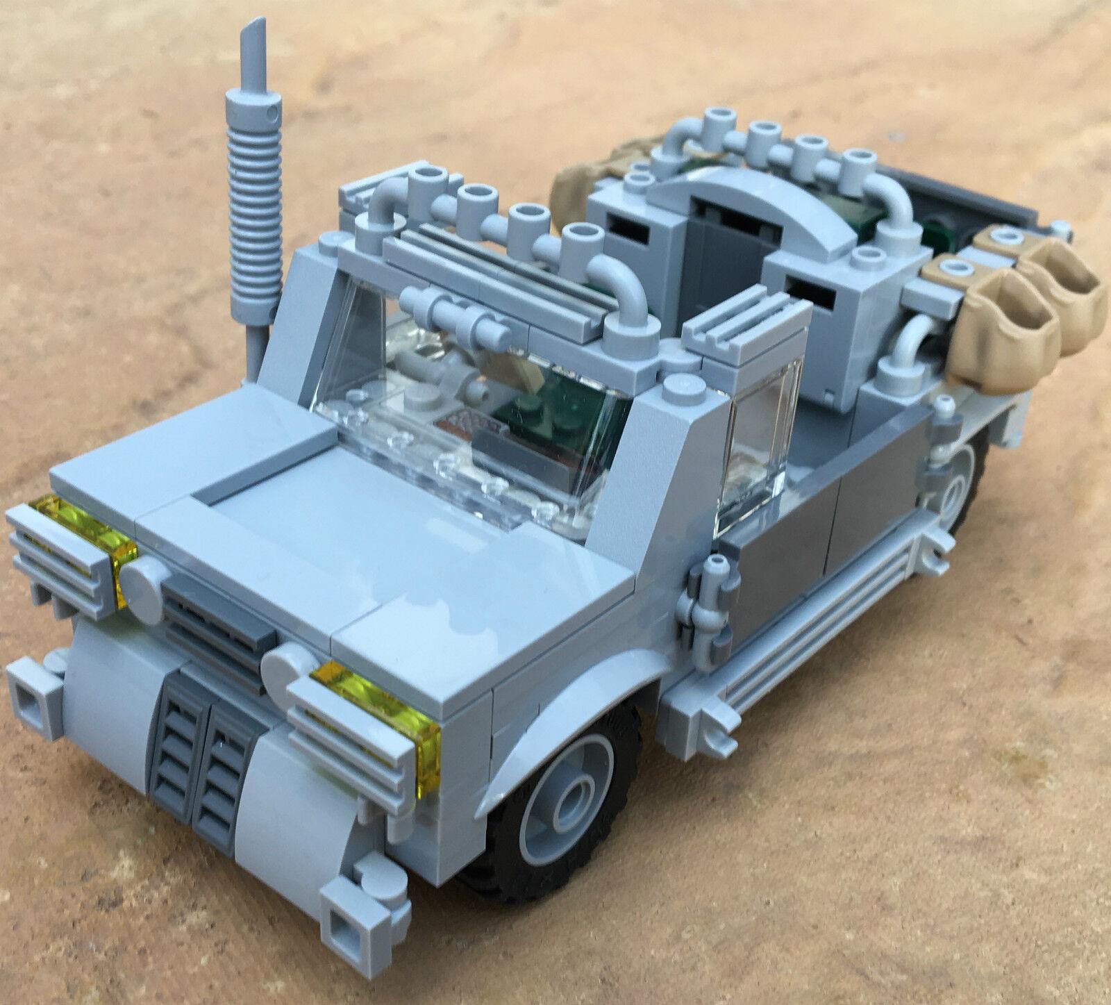 Original lego pièces neuves - 4 hommes d'équipage d'équipage d'équipage safari transporteur-my design 10de0f