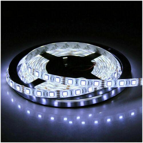 5M 16.4ft SMD 2835 RGB LED Strip Light 5050 Flexible Strip Lamp Waterproof DC12V