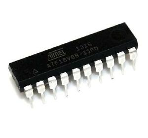5PCS-IC-ATF16V8B-15PU-ATF16V8B-DIP-20-ATMEL-ORIGINAL-NEW