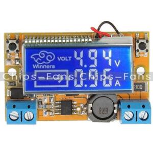 LCD Display Einstellbar DC-DC Doppelt Display Step Down Puls Power Supply Modul