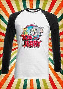 Tom and Jerry Cartoon Cat and Mouse Men Women Vest Tank Top Unisex T Shirt 2277