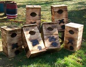 Wood duckhousestingxohio hard pineusa bymholleybuilt image is loading wood duck house nesting box ohio hard pine publicscrutiny Choice Image