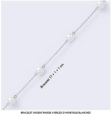 Bracelet Enfant Coccinelle 14 ou 16 cm Argent Massif 925 Rhodié Dolly-Bijoux