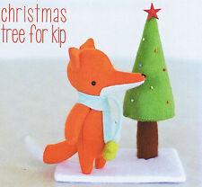 CHRISTMAS TREE FOR  KIP- Sewing Craft PATTERN - Soft Toy Felt Fox Doll