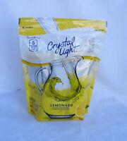 Crystal Light Natural Lemonade Drink Mix - 2 Quart Pitcher Packs - Make 32 Qts