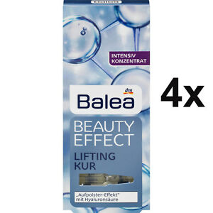 4-Packs-Balea-Beauty-Effect-Lifting-Kur-Hyaluronic-Acid-Ampoules